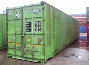 45' High Cube Palett Wide Container, gebraucht