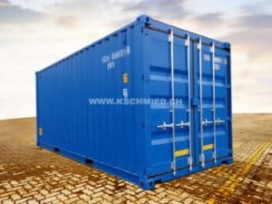 20' Double Door Container, RAL5010