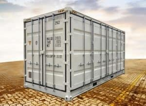 20' High Cube Side Door Seecontainer