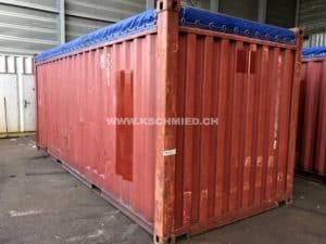 20' Open Top Container, gebraucht