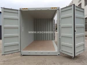 20' High Cube Side Door Container