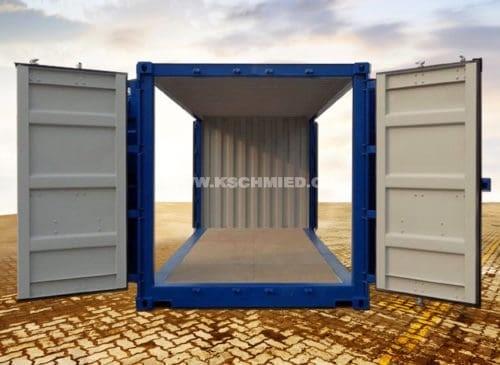 20' Double Side Door Container, RAL5010
