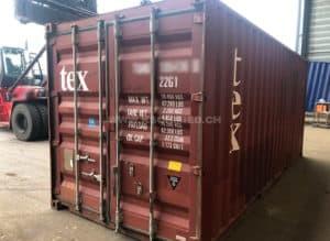 20ft Container, gebraucht