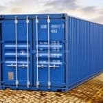 40' Box Seecontainer