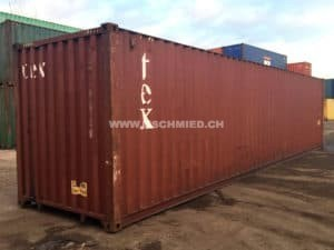 40ft High Cube Container, gebraucht