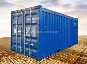 20' Open Top Shipping Container, new/one-way