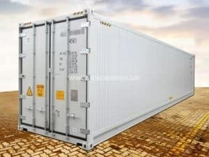 40' High Cube Kühlcontainer