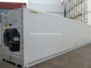 40' High Cube Kühlcontainer, NEU/neuwertig