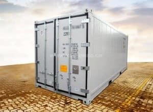 20 Foot reefer container, new/one-way