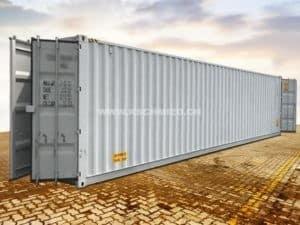 40 Fuss High Cube Double Door Seecontainer