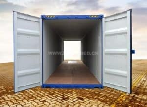 40 Fuss High Cube Double Door Seecontainer