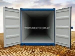 40 Fuss Container mit Stahlboden