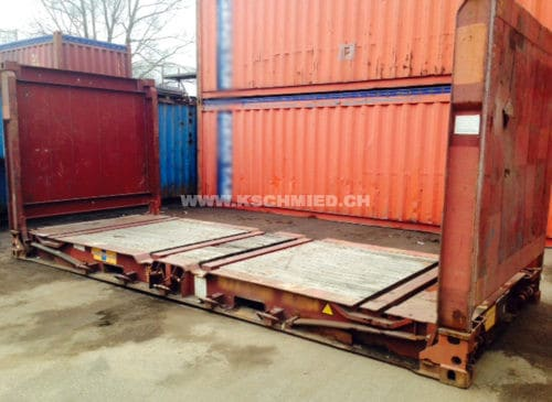 20 Fuss Flat Rack Container
