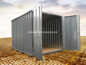 Schnellbaucontainer, 3x2m, 2-flügelig
