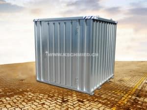 Schnellbaucontainer, 2x2m, 1-flügelig