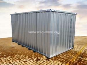 Schnellbaucontainer, 4x2m, 1-flügelig