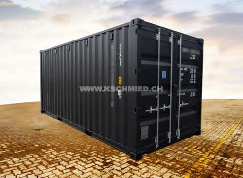 20 Fuss Box Quick Access Container, neu/neuwertig
