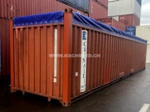 40' Open Top Seecontainer, gebraucht