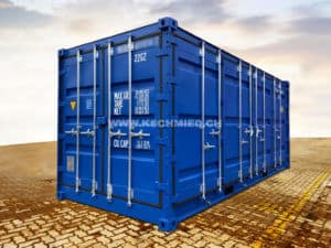 20' Side Door Sea Container with COLLECTION PAN