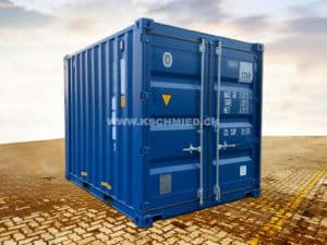 10 Fuss DOUBLE DOOR Container (Seecontainer Qualität)