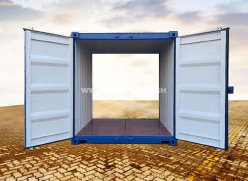 10 Fuss DOUBLE DOOR Container (Seecontainer Qualität)