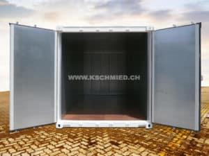 20 Fuss Box Seecontainer, neu, ISOLIERT