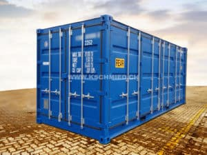 20' Double Door Side Door Seecontainer, NEU/neuwertig