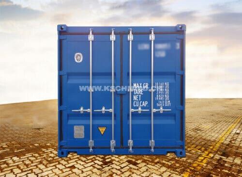 10' Lagercontainer, Seecontainer-Qualität, STAHLFUSSBODEN, NEU/neuwertig