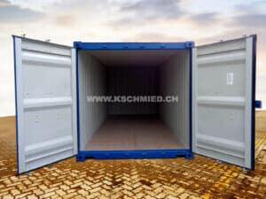 20' LOW CUBE Seecontainer, NEU/neuwertig