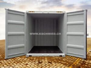 10' High Cube Lagercontainer, Seecontainer-Qualität, Quick Access, NEU/neuwertig