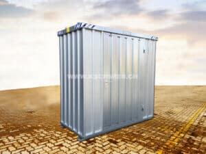 Schnellbaucontainer, 1x2m, 1-flügelig