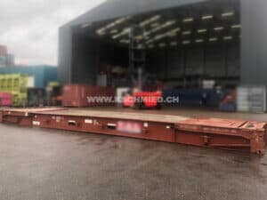 40 Fuss Flat Rack Container