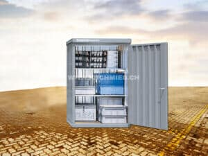 Magazinbox MB6, mit Boden