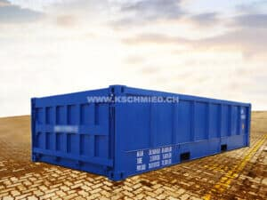 20' Half Height Container, NEU/neuwertig