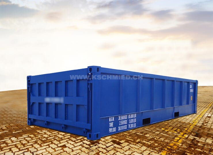 20′-Half-Height-Container