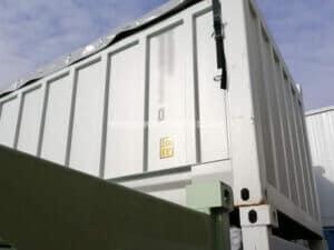 20' Schüttgut-/Bulk-Container, NEU/neuwertig