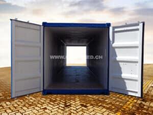 40' Double Door Container, RAL5010