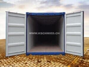 40' Open Top Seecontainer, NEU/neuwertig