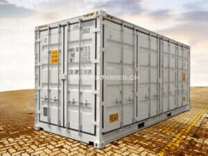 20' High Cube All Side Access Sea Container